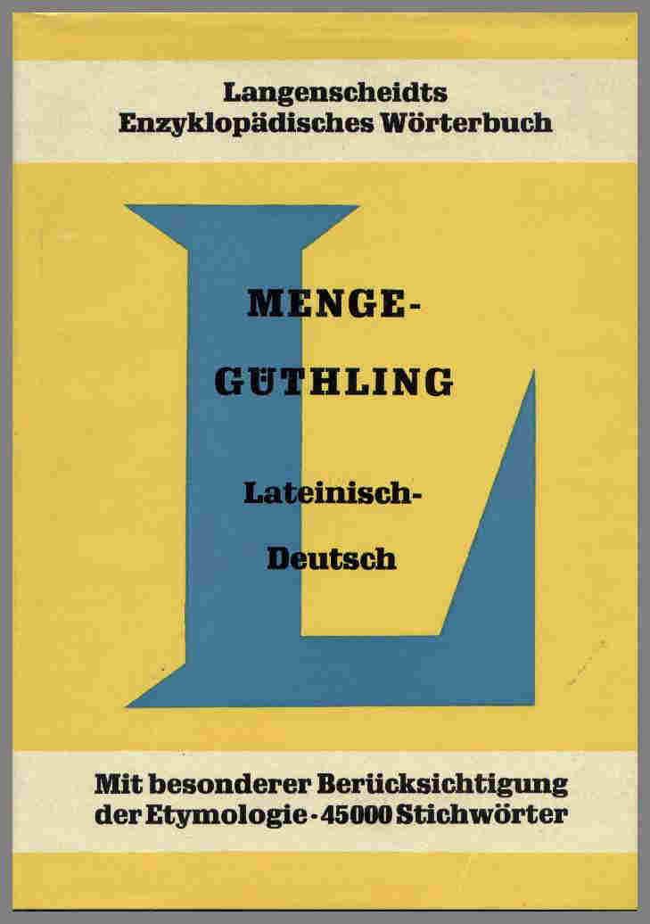 lateinisch deutsch wörterbuch